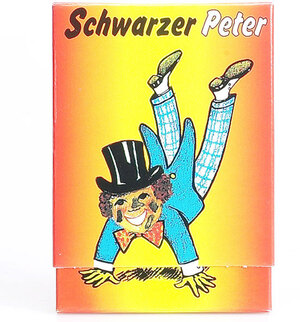 Carlit Schwarzer Peter D/F/I ab 4 Jahren, 2-6 Spieler, Kartenspiel 62310202