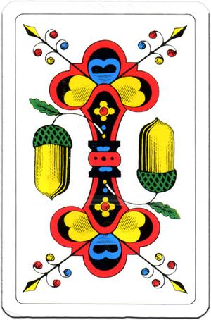 AGM Jasskarten einfach Karten 57x88 mm, in Cellophan 430205
