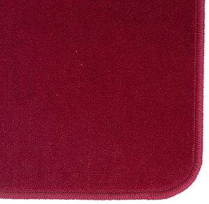 AGM Jassteppich uni, rot 60x60 cm, mit Ösen, in Runddose 438309