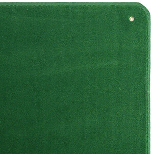 AGM Jassteppich uni, grün 60x60 cm, mit Ösen, in Runddose 62514302