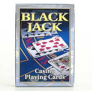 Spielkarten Black Jack mit Anleitung 62535344