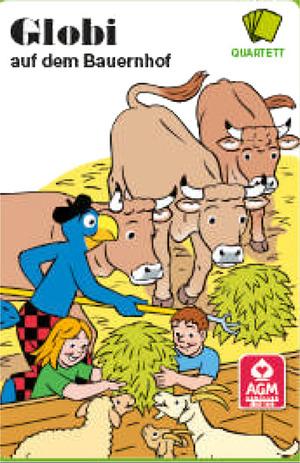 AGM Quartett Bauernhof, d 32 Karten, 3-6 Spieler, ab 4 Jahren 62540002