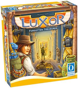 Queen Games Luxor, d/f ab 8 Jahren, 2-4 Spieler, Spieldauer ca. 45 Min.