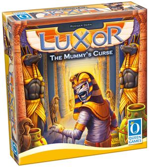 Queen Games Luxor Erweiterung, d/f The Mummys Curse, 2-5 Spieler, ab 8+ 62610412