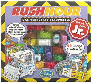 HCM Kinzel Rush Hour Junior, d/f/i ab 6 Jahren, 1 Spieler, 40 Karten in 4 Stufen HCM55040