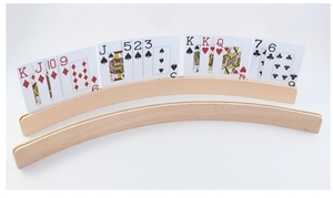 Weible Spiele Kartenhalter Holz L: 50 cm, gebogen, zum Aufstellen 62640809