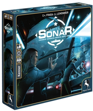 Pegasus Spiele Captain Sonar, d ab 10 Jahren, 4-8 Spieler, Spiel für zwei Teams 62657010