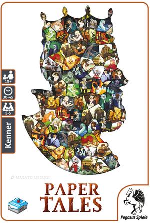 Pegasus Spiele Paper Tales, d ab 10 Jahren, 2-5 Spieler, Spieldauer 30-45 Min. 62657307