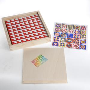 Diverse Würfelmosaik mit 64 Würfeln Holz, Box 18.5x18.5 cm, ab 3 Jahren 63040142