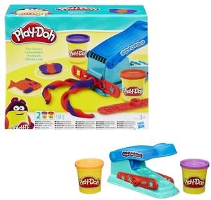 Play-Doh Knetwerk inkl. 2 Dosen Knete à 84 g und Zubehör, ab 3 Jahren 63120024