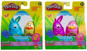 Hasbro Play-Doh Knetstempel Ostern ass. Küken und Hase im Set, 106 g Knete, ab 3 Jahren 63109015