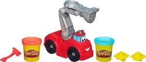 Play-Doh Play-Doh Boomer Feuerwehr- auto, inkl. 2 Dosen Knete und Zubehör, ab 3 Jahren 63118024