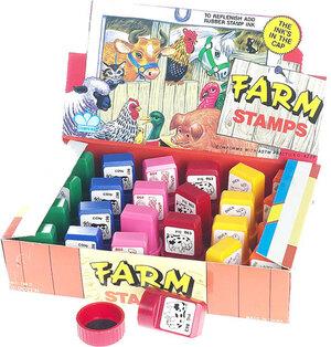 Farmtiere-Stempel klein 63130013