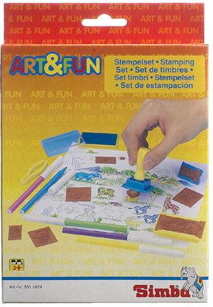 Simba Art & Fun Stempelset 63130029