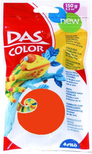 DAS Modeliermasse 150g rot Gebrauchsfertige bunte Knetmasse. Lufthärtend 63202096