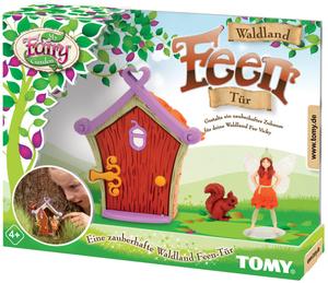 My Fairy Garden Waldland Feen Tür, d mit Feenfigur, Eichhörnchen und Tür, ab 4+ 63772782