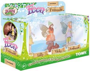 My Fairy Garden Feen & Freunde, d 3 Feenfiguren mit Tierchen, ab 4+ 63772783