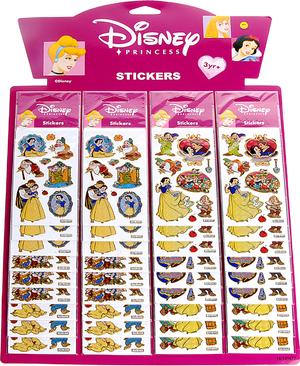 Sticker Schneewittchen/Zwerg sortiert, SB-Beutel 63810506