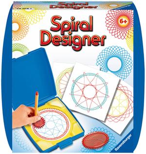 Ravensburger Spiral Designer Blue, df/i 1 Zahnkranz, 2 Zahnräder, 10 Bogen Papier, ab 6 Jahren 64729708