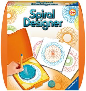 Ravensburger Spiral Designer orange d/f/i 1 Zahnkranz, 2 Zahnräder, 10 Bogen Papier, ab 6 Jahren 64729711