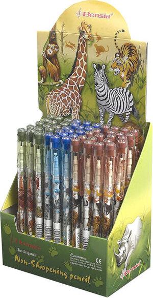 Schiebebleistift Dschungel im Display à 50 Stück 65010073