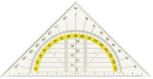Geodreieck, 16 cm 65037020