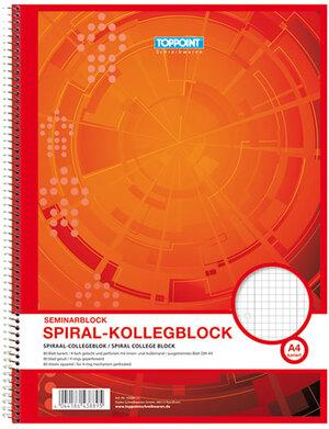 Spiralblock kariert, A4 65043889