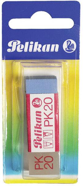 Radiergummi weiss/blau für Bleistift und Tinte, von Pelikan 65085965