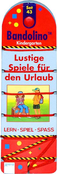 Diverse Diverse Bandolino, Set 43 Lustige Spiele für d.Urlaub Lernspass für Kindergärtner. 65800143