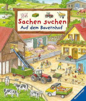 Ravensburger Sachen suchen Auf dem Bauer- nhof, ab 2 Jahren, 17x20 cm, 24 Pappseiten 66232454