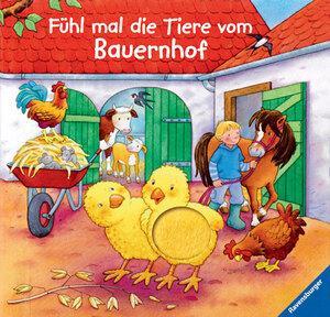 Ravensburger Fühl mal die Tiere vom Bauernhof, ab 18 Monaten, 19x21 cm, 10 Pappseiten 66232573