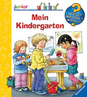 Ravensburger Mein Kindergarten Wieso? Weshalb? Warum? Junior ab 2 Jahren, 18x19 cm 66232786
