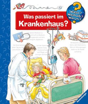 Ravensburger Was passiert im Krankenhaus Wieso? Weshalb? Warum? ab 4 Jahren, 24x27 cm 66232848