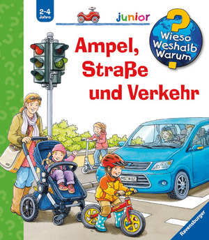 Ravensburger Ampel, Strasse und Verkehr Wieso? Weshalb? Warum? Junior ab 2 Jahren, 18x19 cm 328789