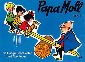 Papa Moll Papa Mollbuch, Band 2 blau, 60 lustige Geschichten und Abenteuer mit 67080002