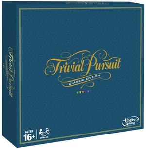 Hasbro Trivial Pursuit Classic, d ab 16 Jahren, 2-6 Spieler, 2400 Fragen und Antworten 67173850