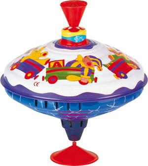 BOLZ Musikkreisel Spielkiste Blech, 19 cm 68220304