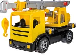 LENA Kranwagen gelb 72x28x40 cm, Kunststoff, ab 3 Jahren 71112176