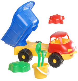 Simba LKW Kipper gefüllt, 2-sort. 71150123