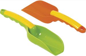 Gowi Schaufel, 24 cm ergonomische Form, 2-fach (eines wird geliefert assortiert 71220668