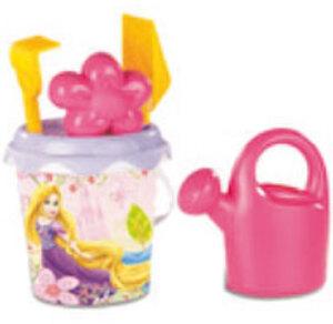 Smoby Sandgarnitur Disney Princess 6-teilig, 17x35 cm, mittel, Eimer, Sieb, Giesser etc. 71440190