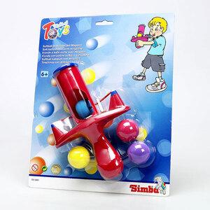 Softschleuder mit Moosgummi- Bällen, 2-fach (eines wird geliefert sortiert 72031891