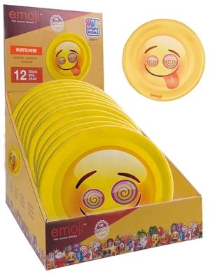 HAPPY PEOPLE Wurfscheibe Emoji ø 40 cm Softmaterial, Polyester 72116776