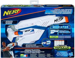 NERF Modulus Firepower Upgrade-Teile, 2-fach (eines wird geliefert ass. Stütze oder Lauf, ab 8 Jahre 72401029