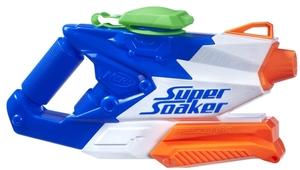 NERF Super Soaker FreezeFire 2.0 spritzt bis zu 11 m weit, Tank 0.6 l, ab 6 Jahren