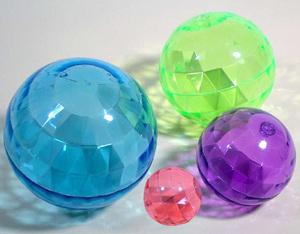 diverse Sprungball Diamond, klein ø 75 mm, 4-fach (eines wird geliefert assortiert, springt extrem hoch 73550860