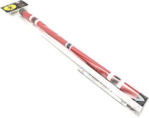 Jonglerie Diffusion Devil Stick Set, rot Standardstick 675 mm, 200 g, mit Stäben und Anleitung 73801729