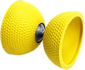 Jonglerie Diffusion Diabolo Birdie gelb ø 77 mm, H:95 mm, 145 g, exklusive Golfball Qualität 73830022