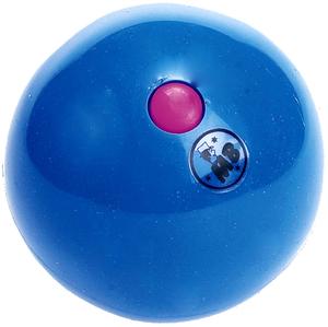 Jonglerie Diffusion Bubble Ball blau, ø 63 mm 120 g, PE, glänzend, Füllung austauschbar 73880005