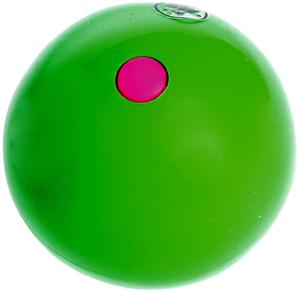 Jonglerie Diffusion Bubble Ball grün, ø 63 mm 120 g, PE, glänzend, Füllung austauschbar 73880006